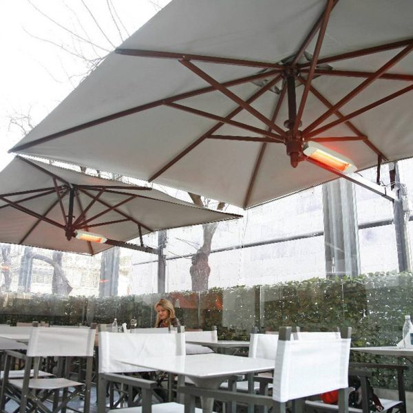 Heliosa 11 commercial umbrella heater