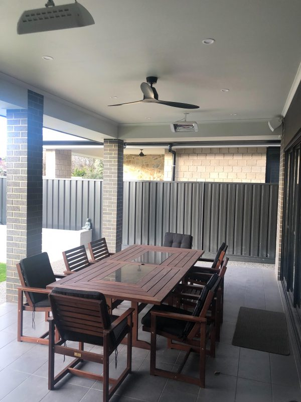 Residential Outdoor Infrared Heating to keep your family warm during winter
