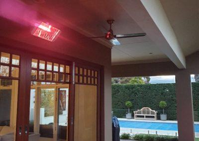 Heliosa 66 Effective Outdoor Infrared Heating